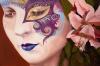 hibiscus-masquerade( oil - 60 x 90cm )