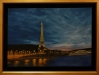 Eiffel Tower Paris ( oil 60 x 90cm )